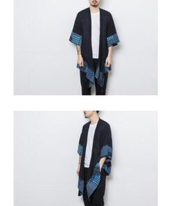 Awesome Patchwork Loose Long Kimono Coat