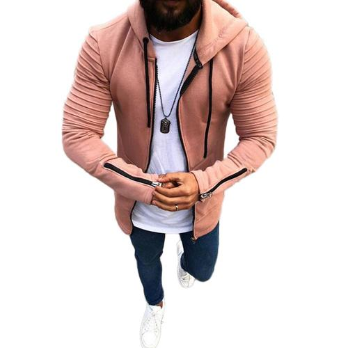 Cool Street Style Fitted Outwear Pullover
