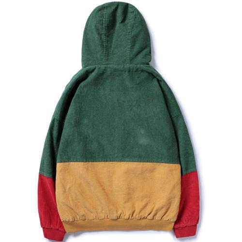 Corduroy Hooded Jackets
