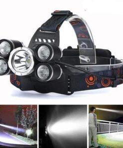 EzySurvival 'The Big Boy' - Zoomable Waterproof 5x Cree T6 Super Headlamp
