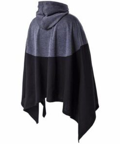 Fashionable Stitching Splice Poncho