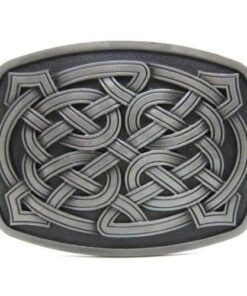 Keltic Knot Tinity Cross Belt Buckle