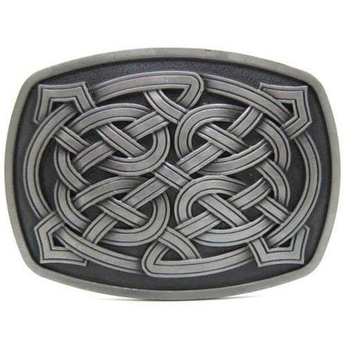 Keltic Knot Tinity Cross Belt Buckle