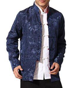 Men's Auspicious Reversible Chinese Shirt