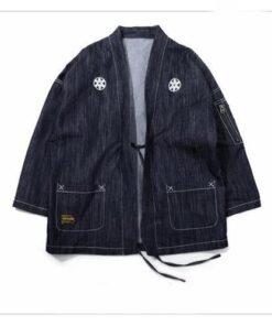 Streetwear Kimono Jeans Jacket