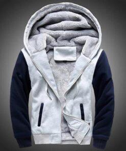 Thick Fleece Jacket Men Winter Jacket