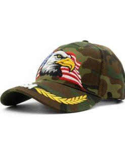 USA Eagle Camouflage Hat