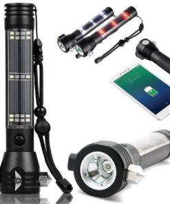 VS Gear Road Warrior™ Solar Powered Emergency Flashlight