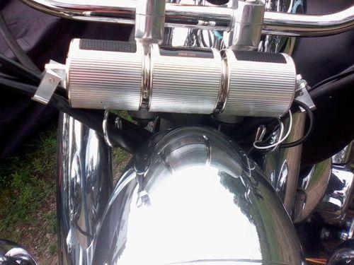 Loudest Waterproof Bluetooth Motorcycle Speaker photo review
